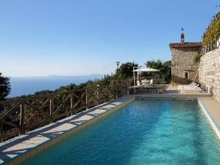 Charming Stone Villa Deco with Pool, Sauna, Gym & Fantastic Sea Views - Sant'Agata sui Due Golfi vacation rentals