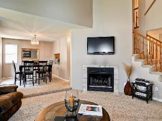 Townhome for nine w/ gas fireplace & patio - Salt Lake City vacation rentals