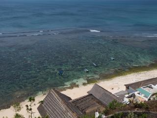 Million$ views from Surf Bungalows above beach - Jimbaran vacation rentals