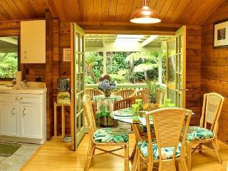Hale Sweet Hale Log Cabin with Hot Tub! - Volcano vacation rentals