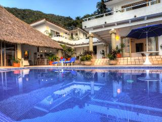 Mexico Luxury Family Villa on Los Gatos Beach Cook - Puerto Vallarta vacation rentals