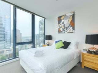StayCentral CV 2 gym pool two bedrooms great views - Melbourne vacation rentals