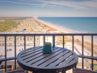 Amazing Studio in Myrtle Beach with Incredible Coastline Views from Balcony - Myrtle Beach vacation rentals