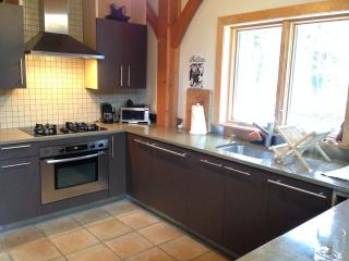 New Timberframe House Rental in the Berkshire Mountains, Masschusetts - Shelburne Falls vacation rentals