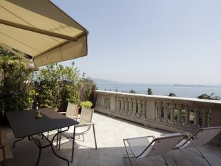 Alloro apartment private terrace wide lake view - Lake Garda vacation rentals