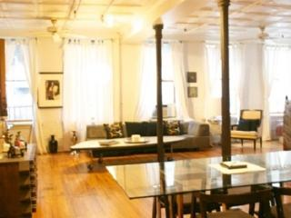 2 BR 1 Bath SoHo Mercer/Prince Street Artist Loft! - New York City vacation rentals