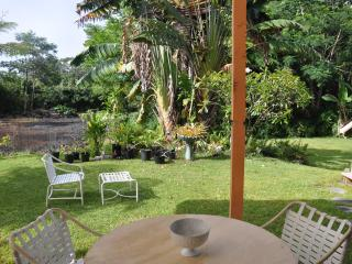 Private 1 Bedroom with Living and Kitchenette overlooking Plumeria Gard - Puna District vacation rentals