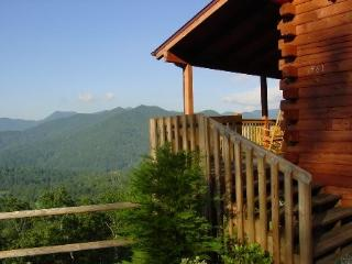 Smoky Mountain Getaway – Close to WCU & Harrahs's Casino. Porch Rockers to Enjoy a Panoramic View, Secluded with Pool Table and Hot Tub - Dillsboro vacation rentals