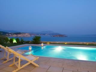 SK Place Ammos sea front private heated pool Crete - Almyrida vacation rentals