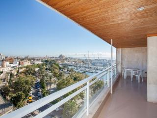 PALMA CENTER TERRACE SEA VIEW POOL - Palma de Mallorca vacation rentals