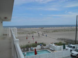 Beach Front, Top Floor, 2 BR with Heated Pool - Wildwood Crest vacation rentals