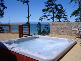hot tub and views--watch for whales - Serendipity - Serendipit - Gualala - rentals