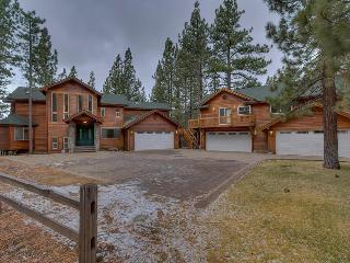 5776 Sq. Ft. 7BR Estate - Main House + Separate Guest House backing meadow, pool table, foosball & ping pong! - The Black Bart House - South Lake Tahoe vacation rentals