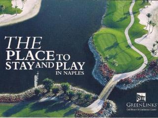 2 Bd, 2 Bath Condo @GreenLinks Golf Resort Naples - Naples vacation rentals