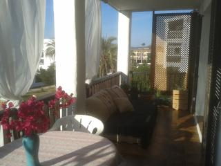 Beautiful Ibiza 2 bed apt with sunset and sea view - Sant Jordi vacation rentals