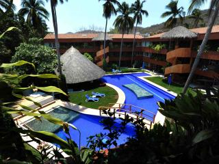 Confortable Apartment in La Ropa beach D302-A - Zihuatanejo vacation rentals