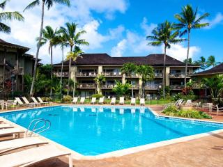 Oceanfront bedroom and 2 ocean view lanais! - Kapaa vacation rentals