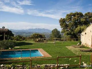 Masia Can Vidal de Costa with a stunning view! - Subirats vacation rentals