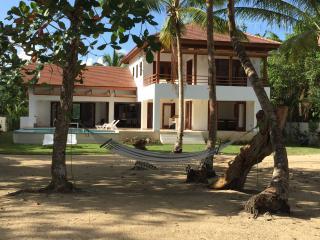 Casa Palmar - New villa, directly on the beach! - Las Terrenas vacation rentals
