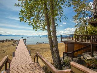 *** Lake Escape - 4 BR LAKE FRONT Home w/ Pier and Hot Tub***Under $500/nt! - Tahoe Vista vacation rentals