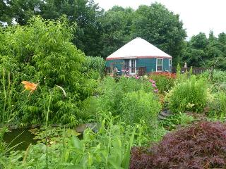 Elegant Yurt Nestled in Organic Garden--Sleeps 6 - Ithaca vacation rentals