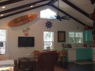 New Luxury Cottage, Great Location, Duck Pond on Street, Free Bikes & Beach Chairs & Washer / Dryer - Saint Simons Island vacation rentals