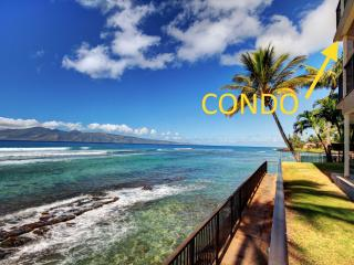 July 8-11 Sale|Oceanfront Maui Paradise|Hear Waves - Lahaina vacation rentals