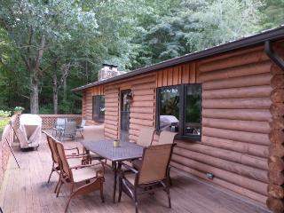Southern Comfort is a spacious cabin rental along Norris Lake in the vicinity of the Blue Springs Docks. - Norris vacation rentals