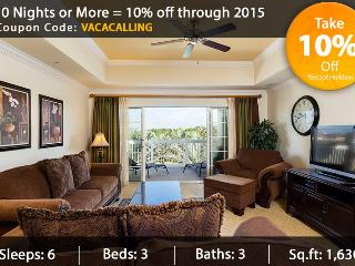 Cabana Paradise - 3 Bed Condo - Reunion vacation rentals
