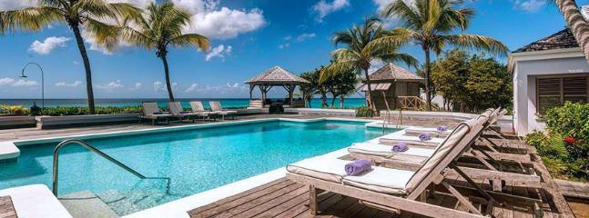 SPECIAL OFFER: St. Martin Villa 125 An Idyllic Beachfront Property Located On One Of St. Martin's Finest Beaches, Beautiful Baie Longue. - Image 1 - Baie Longue - rentals