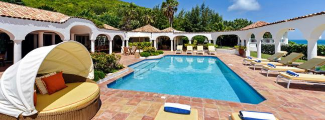 SPECIAL OFFER: St. Martin Villa 54 Commands A Beautiful View Of Baie Rouge Beach And The Island Of Anguilla. - Image 1 - Terres Basses - rentals