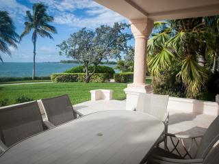 Charming 3 Bedroom Oceanfront Villa in Fisher Island - Miami vacation rentals