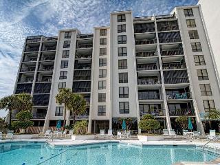 Station One - 8F Hartsook-Oceanfront condo with community pool, tennis, beach - Wilmington vacation rentals