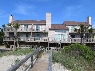 Ocean Dunes 1602 -  Secluded oceanfront condo with oversized deck and views - Kure Beach vacation rentals