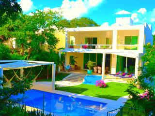 VILLA, PRIVAT POOL, 2 JACUZZI, 6BDR, 5600 Sq.ft - Playa del Carmen vacation rentals