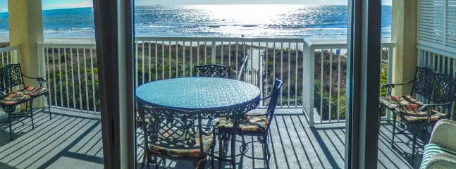 your view of the ocean from the den - 8/22nd reduced Luxury Oceanfront 4Bedrooms/4 Baths - Isle of Palms - rentals