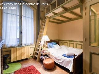 !!! New !!! Cosy Duplex in Central Paris - Paris vacation rentals