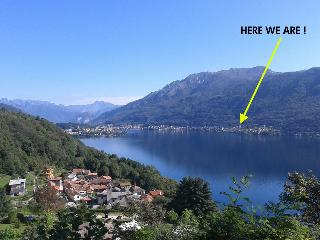 large and bright flat on lake Orta - Piedmont vacation rentals