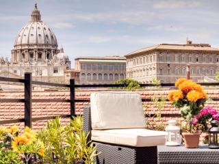 Borgo Pio Terrace Apartment-San Pietro view - Ladispoli vacation rentals