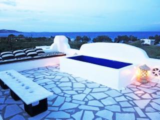 BEACHFRONT COASTLINE VIEWS Designer VILLA  NAOUSA - Paros vacation rentals
