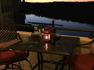 Amazing Lake Travis and Sunset Views from Balcony - Marble Falls vacation rentals