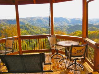 AMAZING VIEWS & PRIVACY:  The CABIN at KILKELLYS - Boone vacation rentals