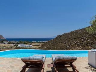 Picturesque Agrari Beach House with pergola & infinity pool, steps to serene beach - Mykonos vacation rentals