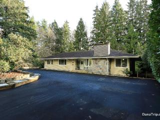 Cul-de-sac Estate w/ Private Backyard & Creek - West Vancouver vacation rentals