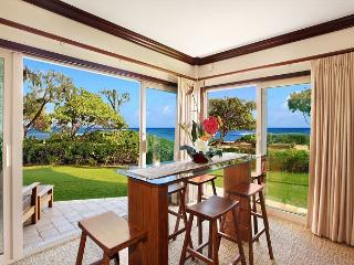 King Waipouli!** BEACH FRONT Large Yard, large floor plan CALL NOW - Lihue vacation rentals