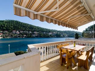 Apartments Kuzma - Four-Bedroom Apartment with Terrace and Sea View - Blato vacation rentals