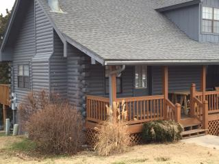 Honeymoon or Couples Log Cabin Fireplace Jacuzzi - Branson vacation rentals