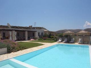 Marble stone Villa with private pool, great view - Naoussa vacation rentals