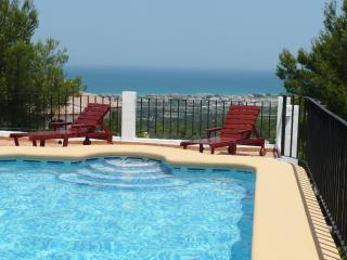 Bungalow near Denia, Costa Blanca, with private pool and magnificent views of the sea and mountains - Denia vacation rentals