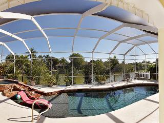 The Magic Sunrise, 4 Bedroom Waterfront Villa - Cape Coral vacation rentals